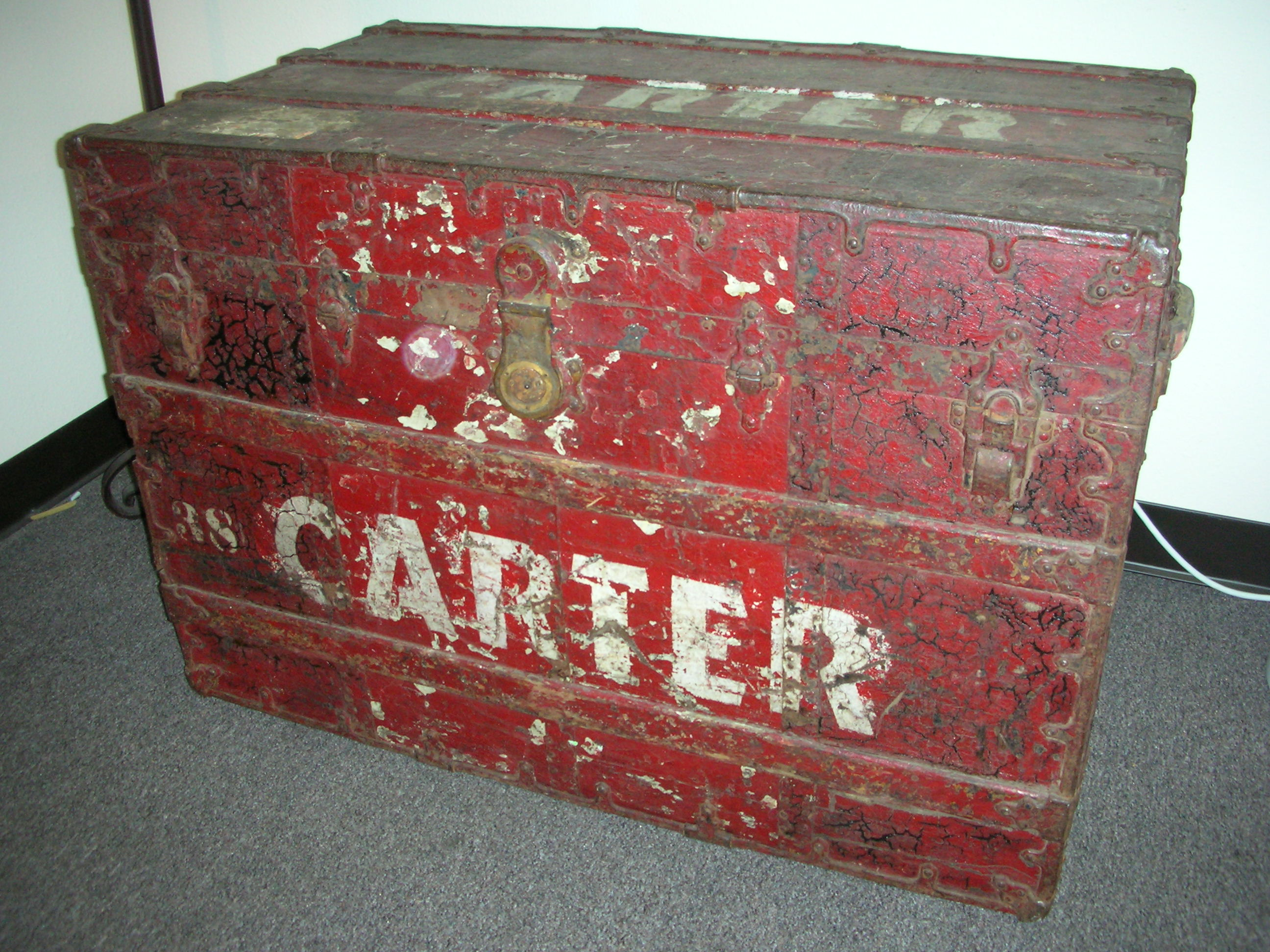 This trunk was acquired from